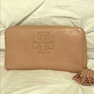 Tory Burch pink wallet